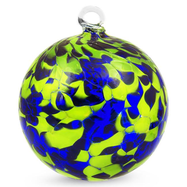 Blue & Green 4 Inch Kugel (Gecko)