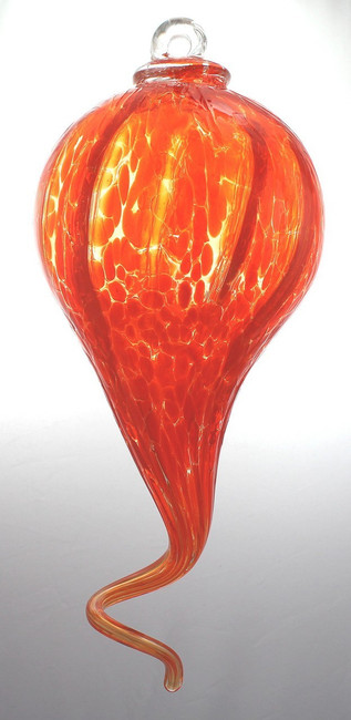 Bright Orange Optic Gourd