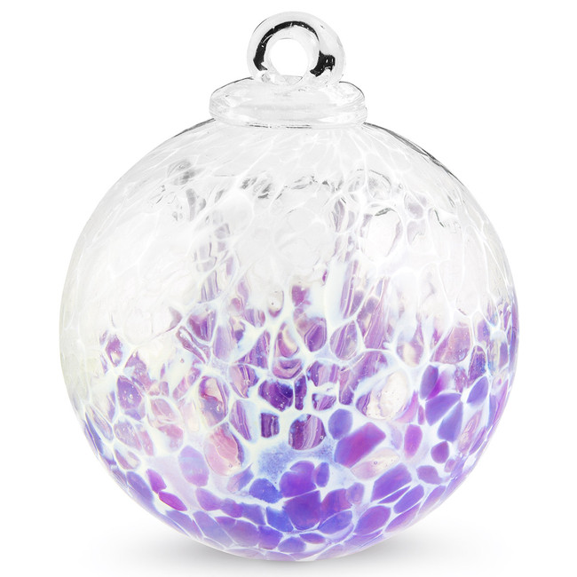 "Veiled Witch Ball ""Violet"""