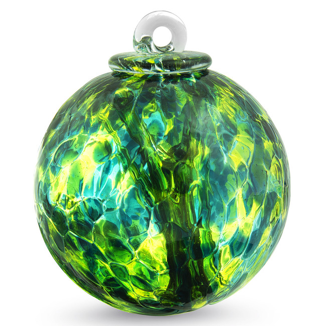 "Small Witch Ball ""Jade"""