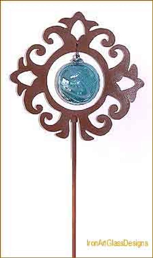 Rustic Celtic Cross Sun Stick