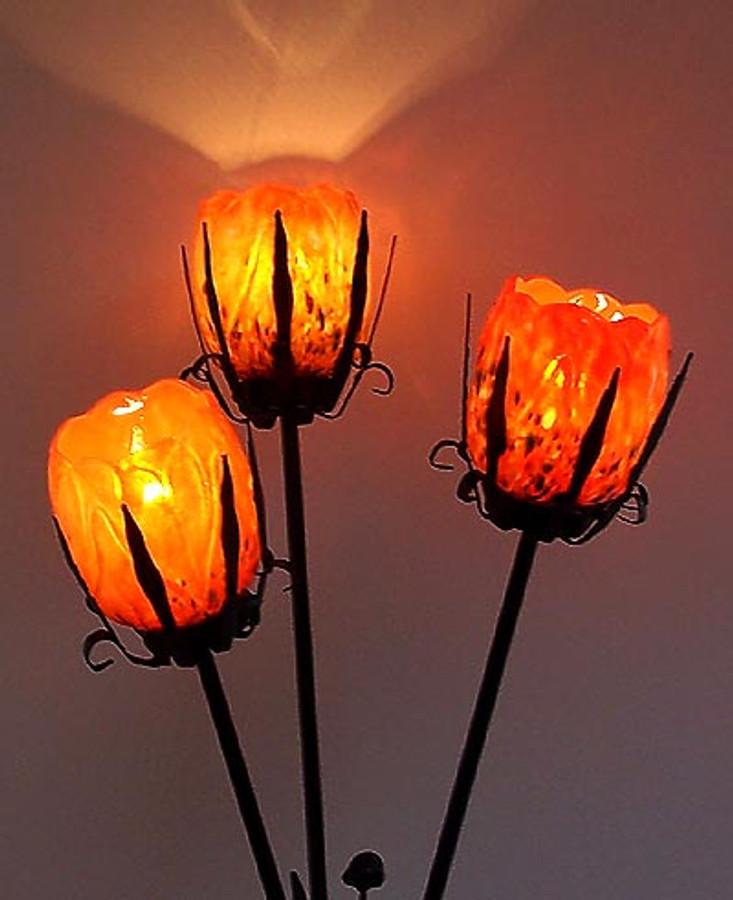 October Magnolia Lamp