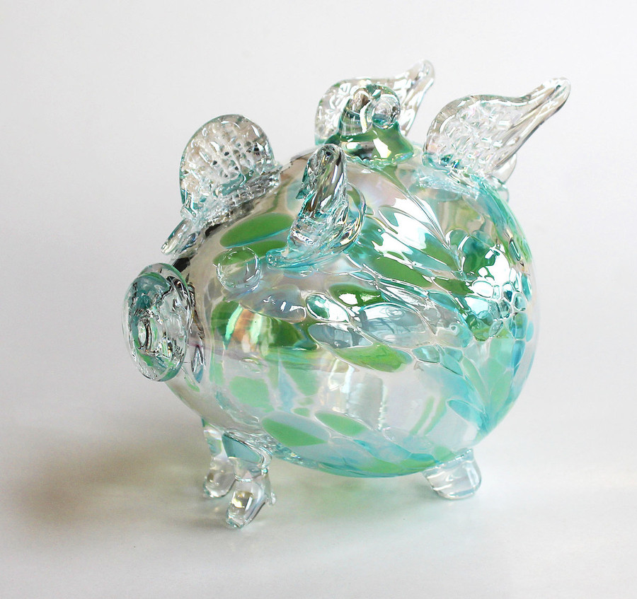 "Flying Piglet ""Bubbles"""