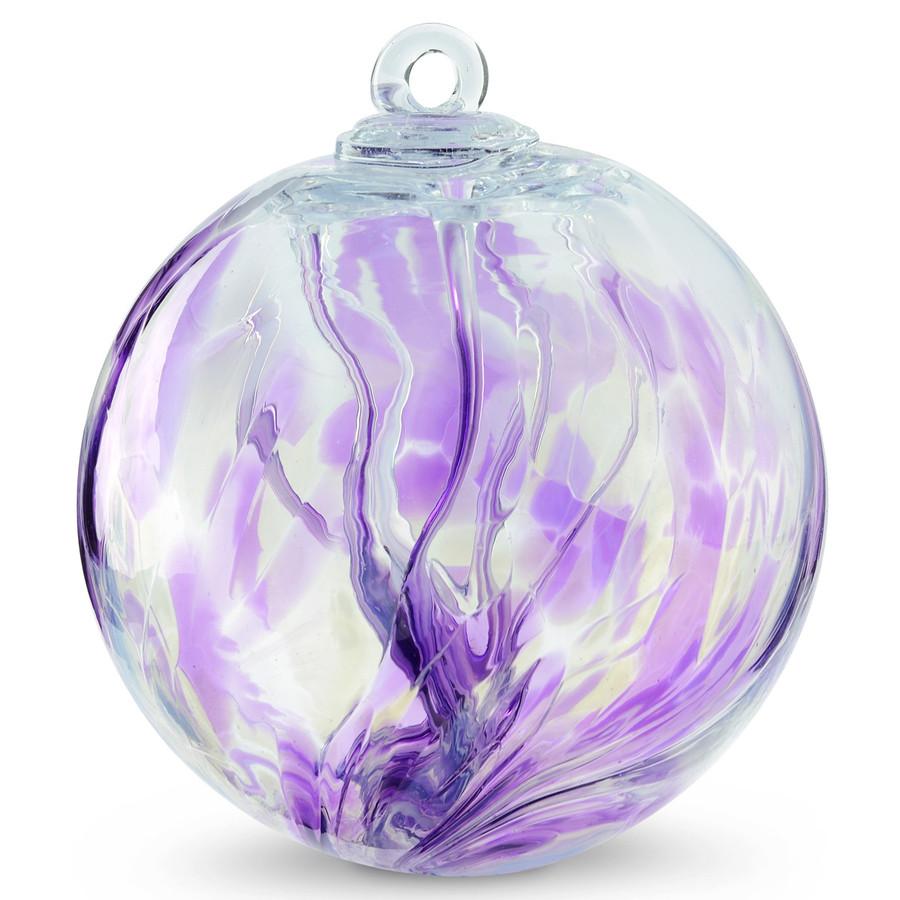 "Witch Ball ""Purple Allium"""