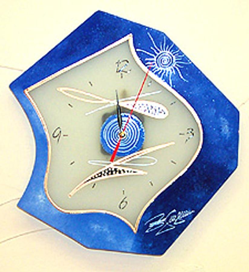 Glass Clock