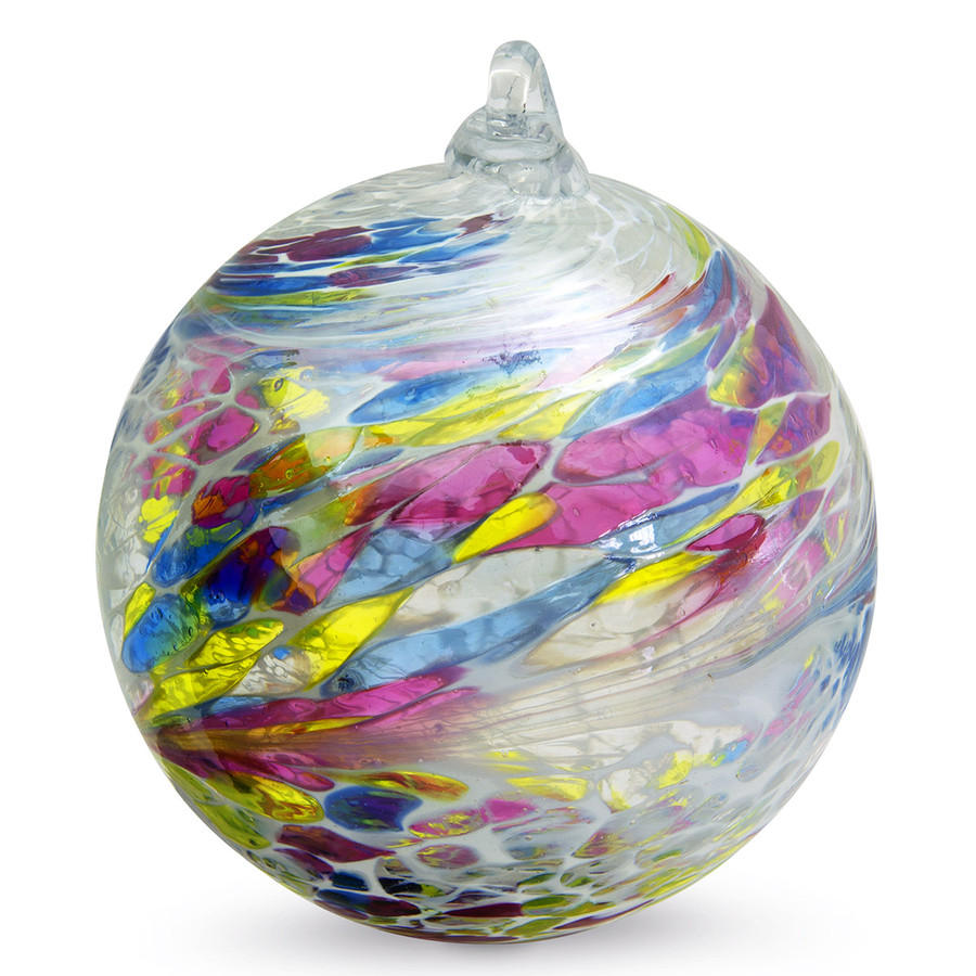 "Friendship Ball ""Harmony"" 4 Inch Kugel Iridized"