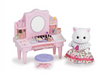 Calico Critters Cosmetic Counter - Play Scene