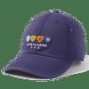 Mini Hearts Sunwashed hat