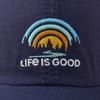 Trees & Stream Sunwashed hat