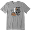 Happy as a Seagull  tee