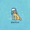 Chillin' with Rocket LS women's tee