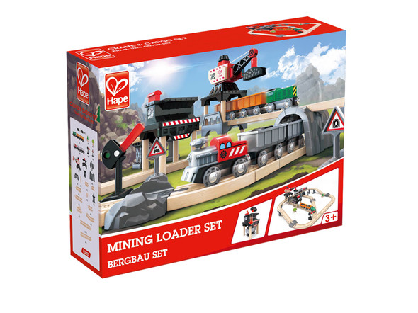 Mining Loader Train Set