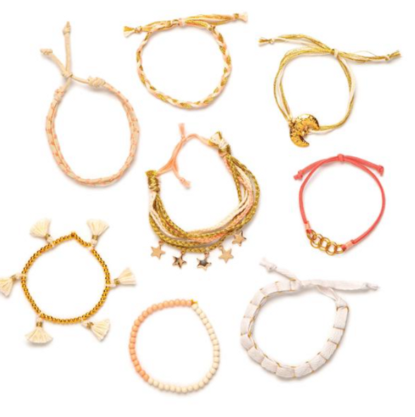 Gold Bracelet Box