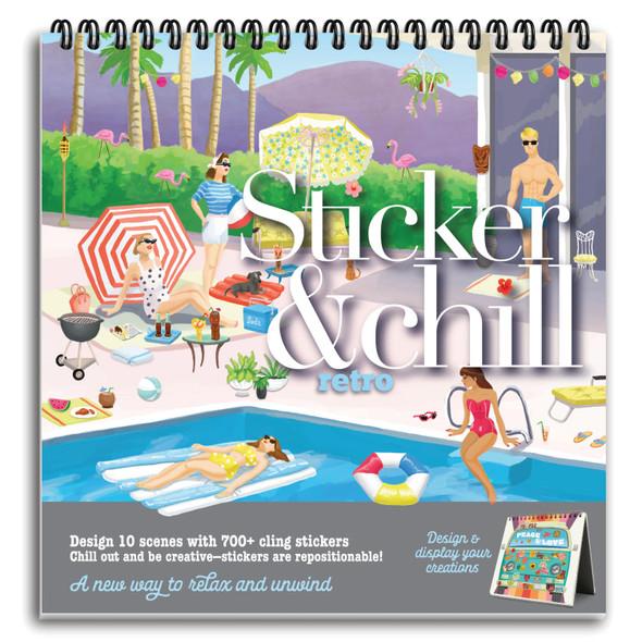 Sticker and Chill Retro
