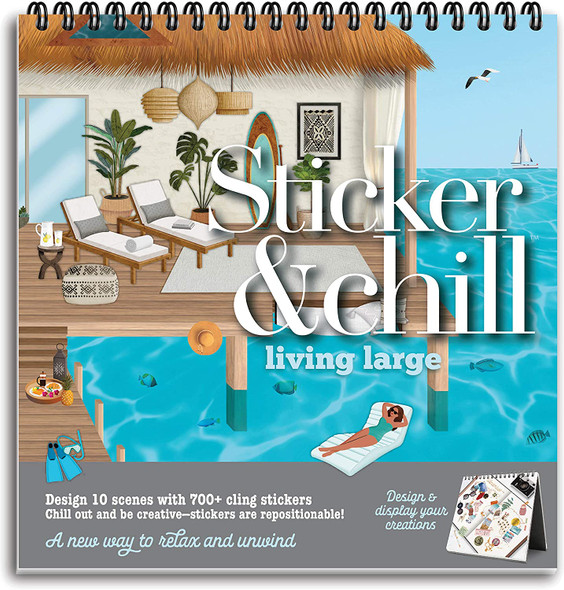 Sticker and Chill Living Large