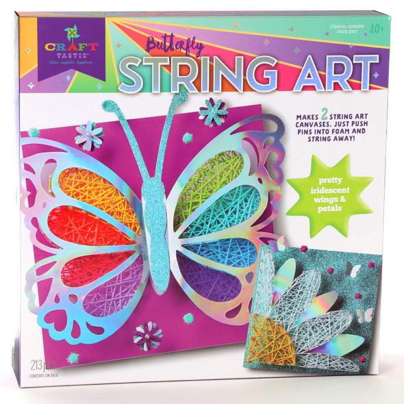 Butterfly String Art Kit