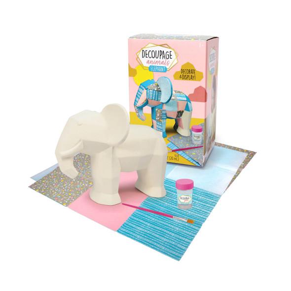 Decoupage Animals Elephant