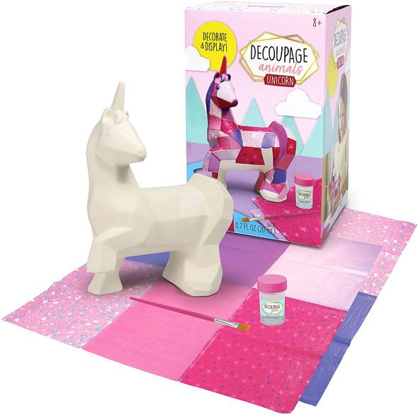 Decoupage Animals Unicorn