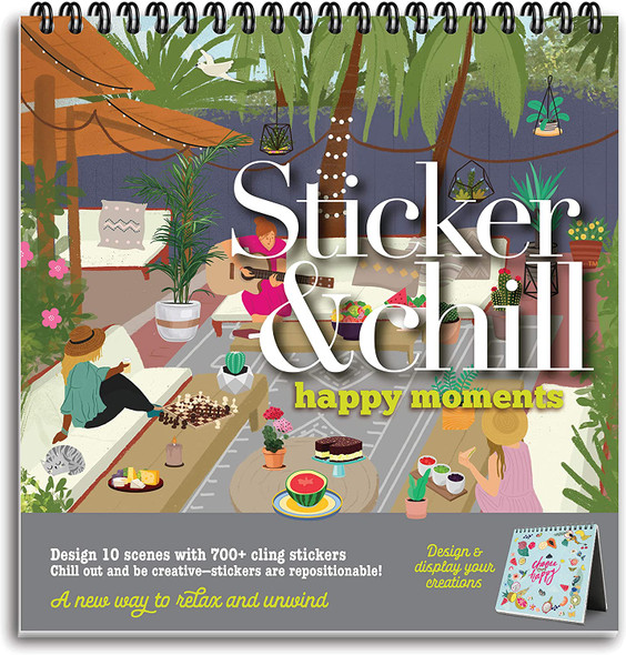 Sticker and Chill Happy Moments