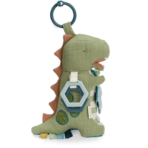 Link and Love Activity Plush with Teether - Dino