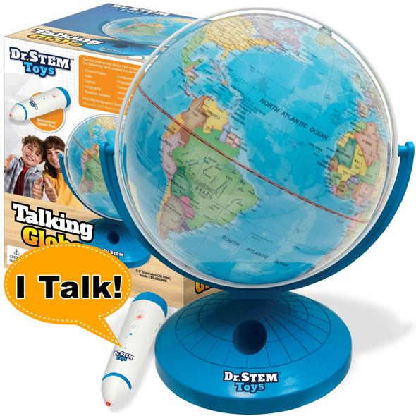 Talking Globe with Interactive Stylus