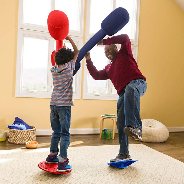 Balance Jousting Set with Inflatable Boppers