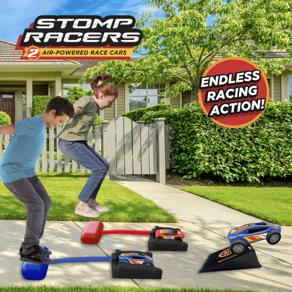 Stomp Rocket Dueling Stomp Racers