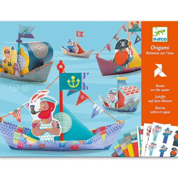 Origami Level 3 - Floating Boats