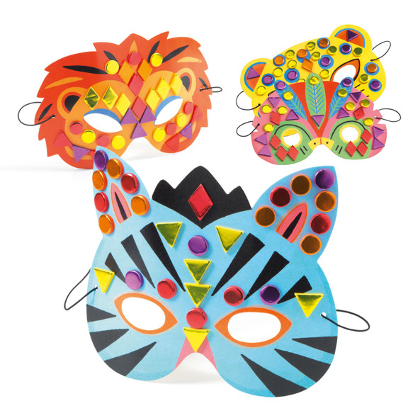 Do It Yourself - Jungle Masks