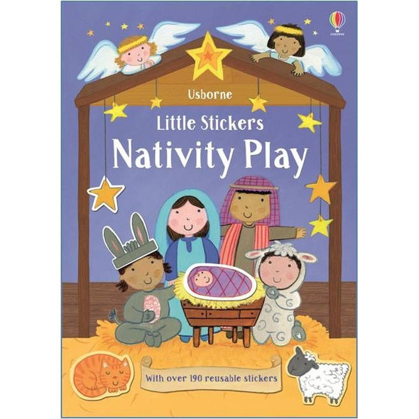 Little Stickers Nativity Play Book