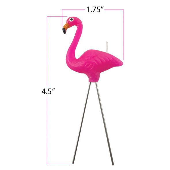 Birthday Candles - Flamingo
