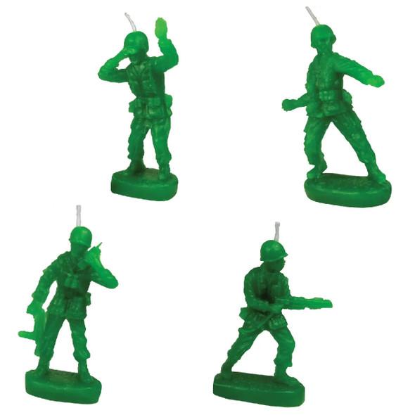 Birthday Candles - GI Army Men