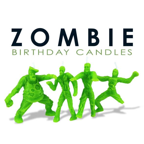 Birthday Candles - Zombie