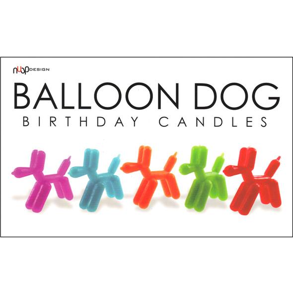 Birthday Candles - Balloon Dog