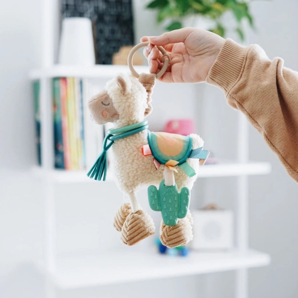 Link and Love Activity Plush with Teether - Llama