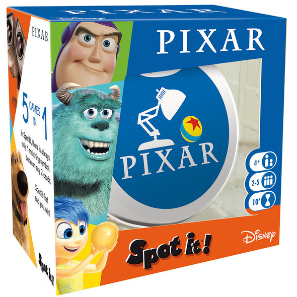 Spot It Game - Pixar