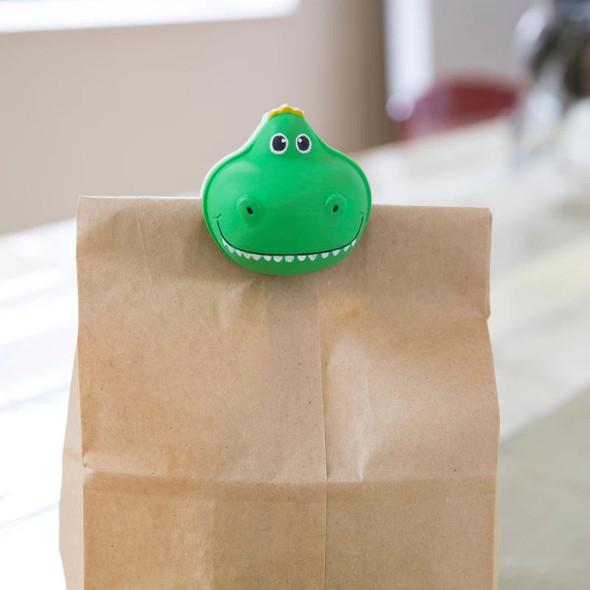 T-Rex Talking Bag Clip