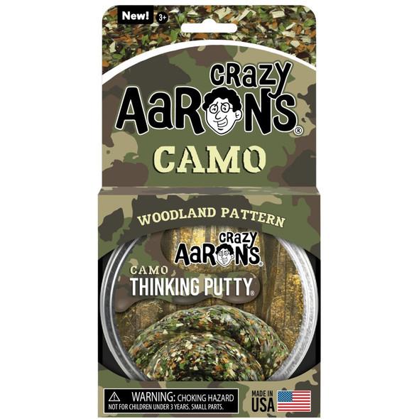 Camo Woodland Pattern Thinking Putty