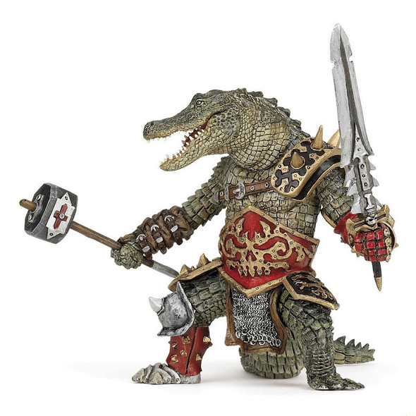 Crocodile Man Figurine