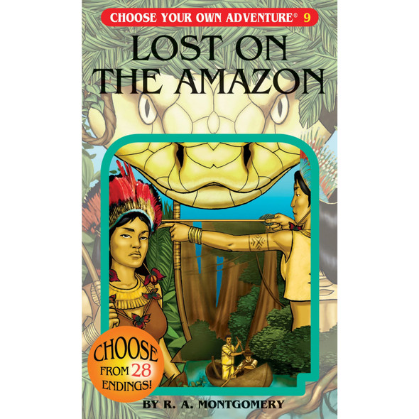 Choose Your Own Adventure - Lost On The Amazon