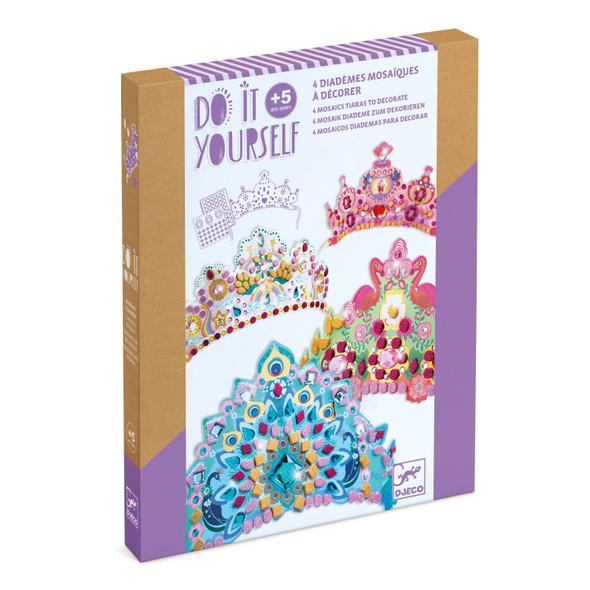 Like a Princess Mosaic Tiaras Craft Kit