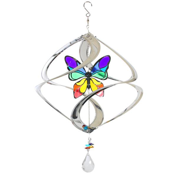 Geo Cosmix Butterfly Wind Spinner