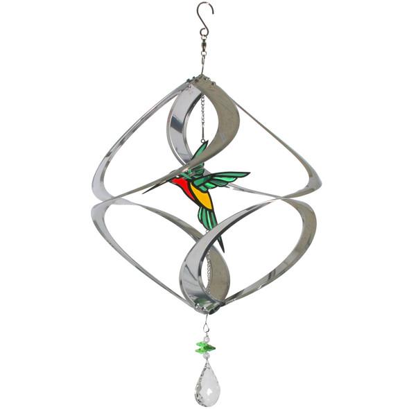 Geo Cosmix Hummingbird Wind Spinner