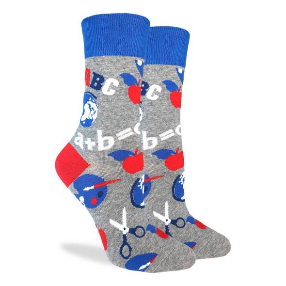 School Teacher Socks Size 5-9