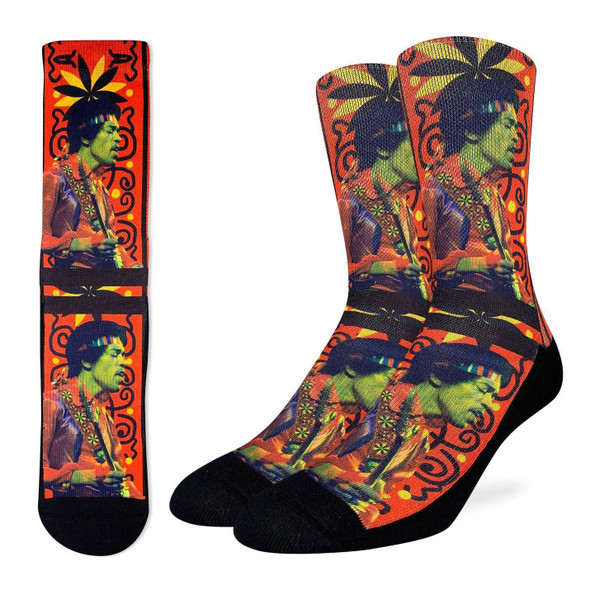 Jimi Hendrix Guitar Strap Active Fit Socks