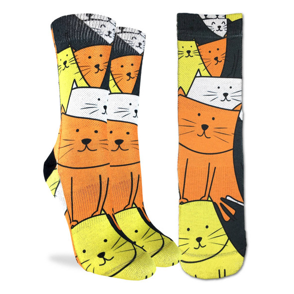 Cats are Watching Active Fit Socks