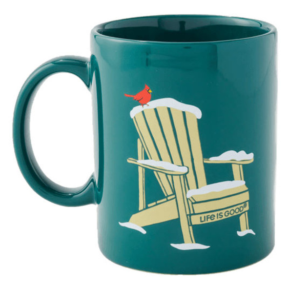 Holiday Adirondack Cardinal Mug
