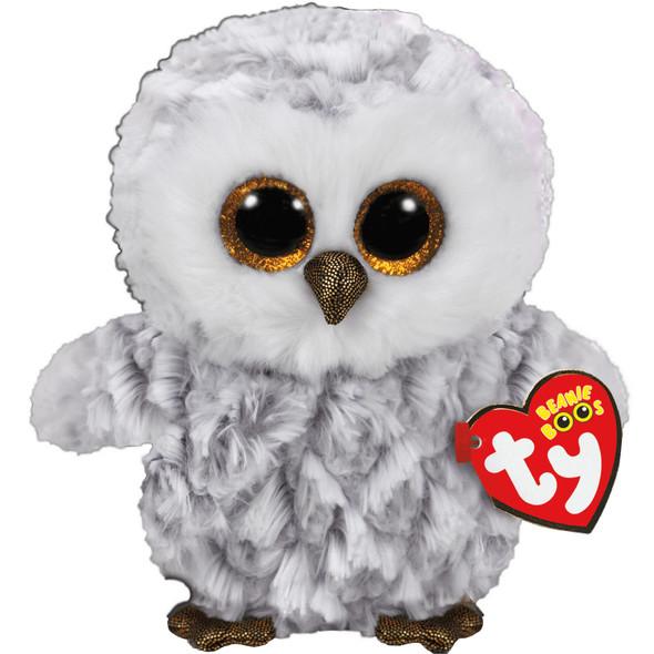Owlette White Owl Beanie Boos Plush