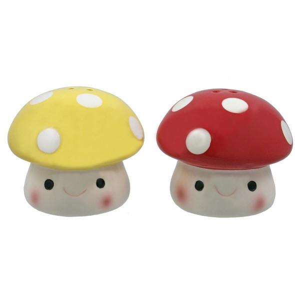 Mushroom Salt and Pepper Set