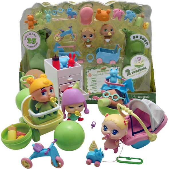 Pea Pod Babies Giant Playset
